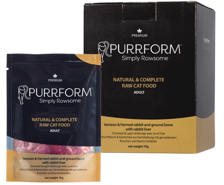 Purrform Raw Cat Food Frozen Cat Food Premium Cat Food